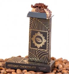 Amazonia Kakaóbab töret 25 g - 70,4 %-os csokimázzal