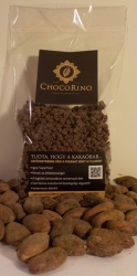Amazonia Pörkölt Kakaóbab töret 100 g - 70 %-os csoki mázzal