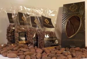 ChocoRino Amazonia Kakaóbab Nagy Csomag
