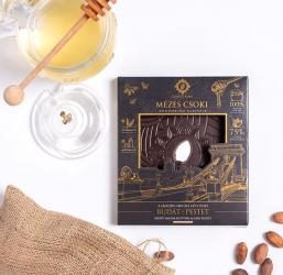 Mézes Csoki - ChocoRino 75 % KLASSZIK (Lánchíd)