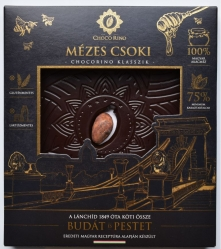 Mézes Csoki - ChocoRino Klasszik 75 %