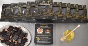 20 tábla Mézes Csoki - ChocoRino Klasszik 75 %