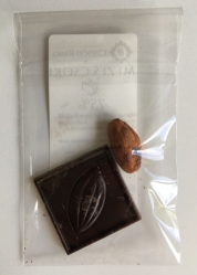 Szállodai bekészítés - Kocka csoki + Kakaóbab