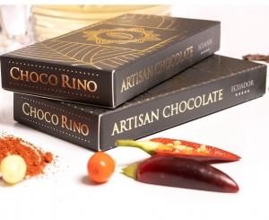 Mézes Csoki ChocoRino 75 % CHILI MINIBOX