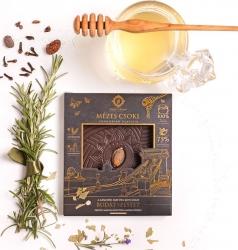 Mézes Csoki - ChocoRino 75 % Gyógynövények (Lánchíd)