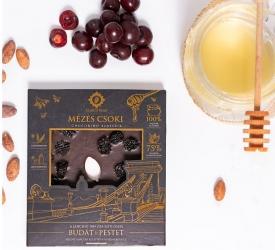 Mézes Csoki - ChocoRino 75 % Férfiak kedvence (Lánchíd)