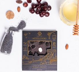Mézes Csoki - ChocoRino 75 % MEGGY-MÁK (Lánchíd)