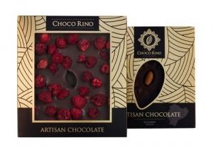 Mézes Csoki Chocorino 75 % - Málna Exklúzív díszdobozban