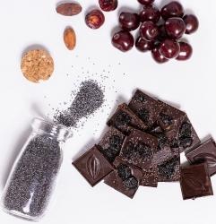 Mézes Csoki - ChocoRino MEGGY-MÁK 75 % 200 g