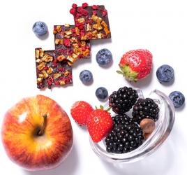Mézes Csoki - ChocoRino GYÜMÖLCSÖS 75 % 200 g.