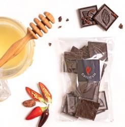 Mézes Csoki ChocoRino 75% CHILI 80 g