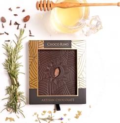 Mézes Csoki - ChocoRino 75 % Gyógynövények Díszdobozos