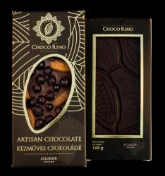 ChocoRino Kakaóbab - Fekete Ribizli 70 %